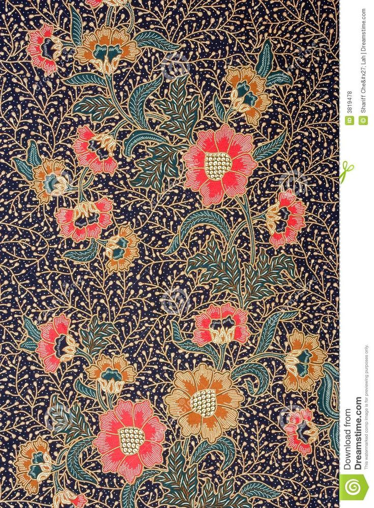 Indonesian Batik Sarong - Download From Over 52 Million High Quality Stock Photos, Images, Vectors. Sign up for FREE today. Image: 3819478