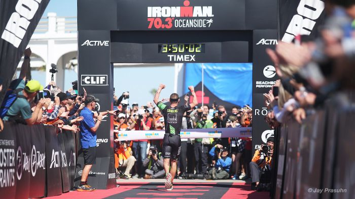 Lionel Sanders' domination at 2017 IRONMAN 70.3 Oceanside involved averaging 354 watts on the bike. Here's a deeper look at what went into this performance.