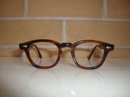 Vintage Tart Optical Arnel Amber 44 22 Frames Horn Rimmed