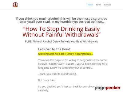 Product Name: Quit Alcohol   How To Stop Drinking Alcohol   Click here to get Quit Alcohol   How To Stop Drinking Alcohol at discounted price while it's still available…    All orders are protected by SSL encryption – the highest industry standard for online security from trusted...