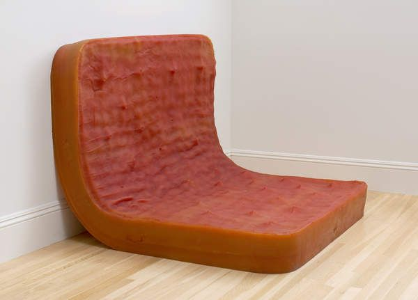 Rachel Whiteread, Untitled (Double Amber Bed), 1991