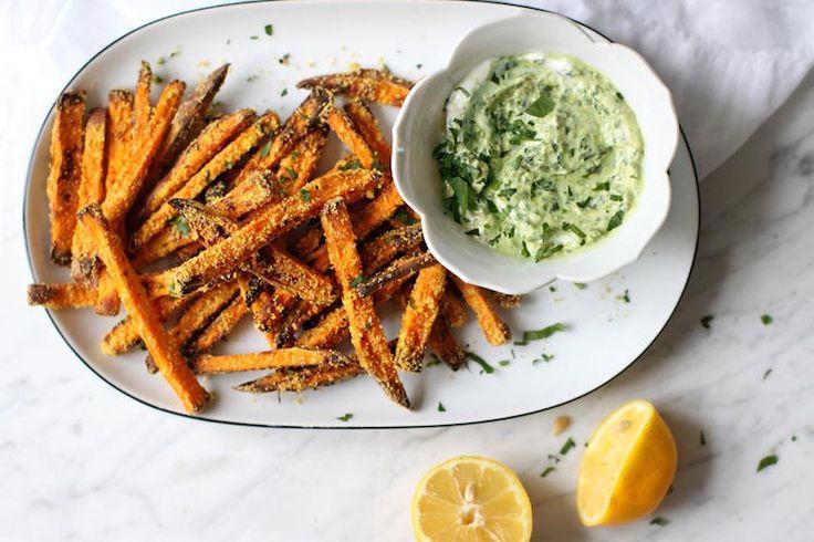 Recept: Oven-frietjes van zoete aardappel - Me-to-We