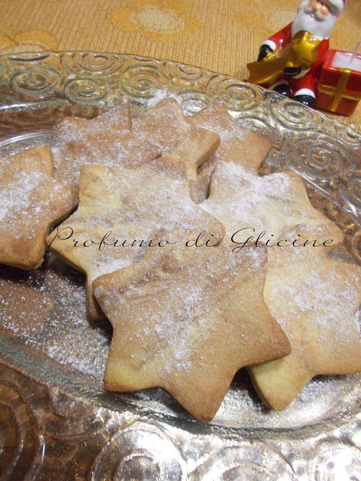 Biscotti+stella+di+natale+|+Profumo+di+Glicine