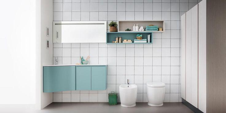 Oltre 25 fantastiche idee su salvaspazio bagno su pinterest scaffali per toilette bagni - Box doccia salvaspazio ...