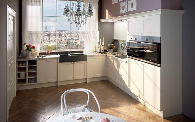 Romantische Küche Paris