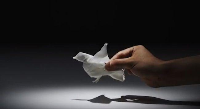 Incrível animação com Origamis | Marte é para os Fracos