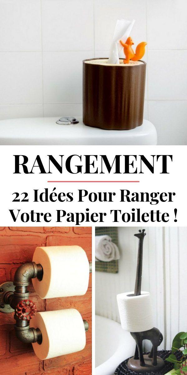 Rangement Papier Toilette 24 Idees Tendance Originales Rangement Papier Toilette Rangement Papier Papier Toilette