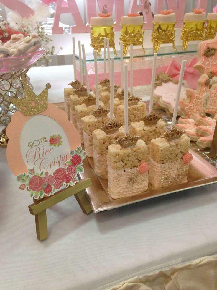 Little Princess Birthday Party Ideas Themed FoodRoyal