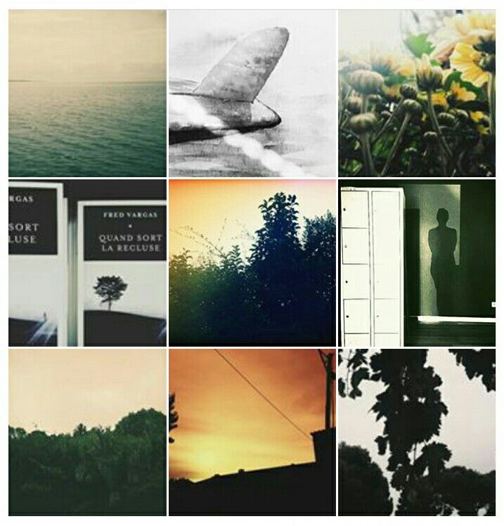 Collage . Sweet September  Automne .first days . Instagram . @isabellecamps ICphotos
