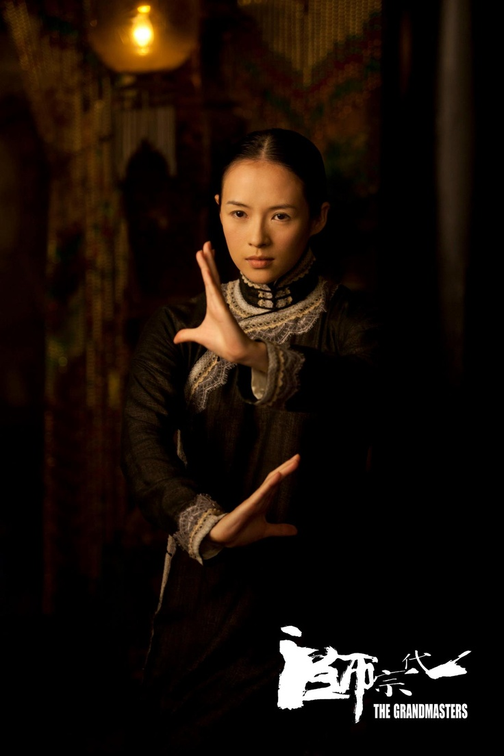 Zhang Ziyi - The Grandmaster ; loving the movie, loving her... So much strength coming out of a petite fair lady :). Ziyi FTW!