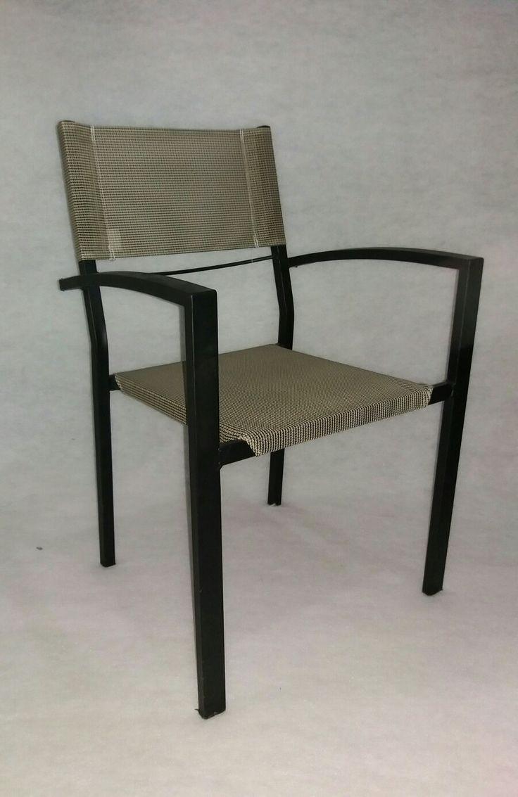 κάθισμα μεταλλικό με pvc