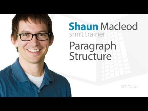 Paragraph Structure - YouTube