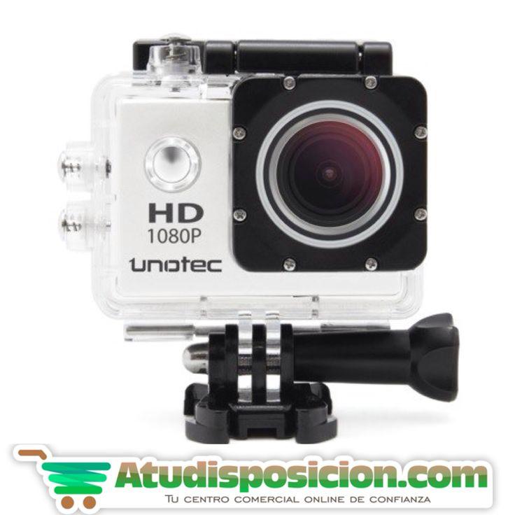 Cámara deportiva UNOTEC XTR PRO II WIFI con resoluciones Full HD de 1080p #fotografia  #moments #youtubers #instagramers