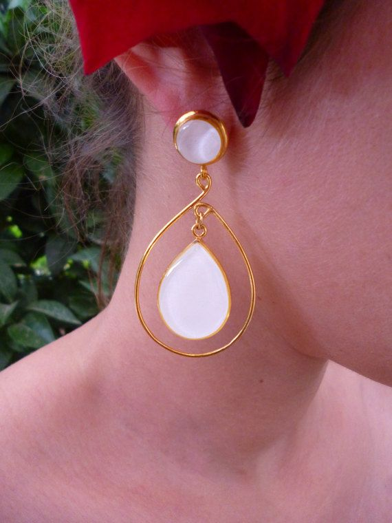 Hey, I found this really awesome Etsy listing at https://www.etsy.com/listing/268074715/white-teardrop-earrings-bridal-earrings  #wedding #white #earrings #white #elegant #chic #jewellery #jewelry #evangelos #evangelosjewellery