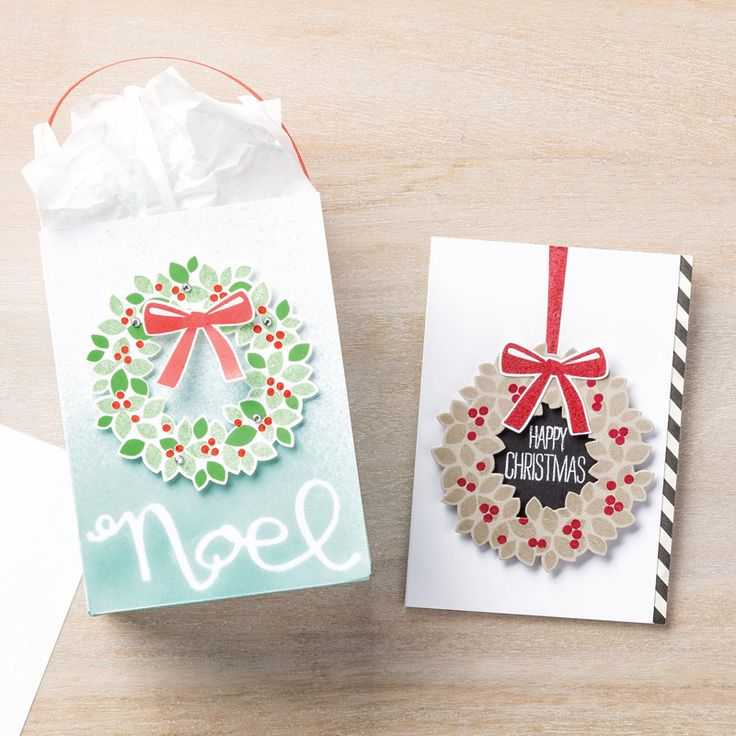 Wondrous Wreath Photopolymer Stamp Set by Stampin' Up!