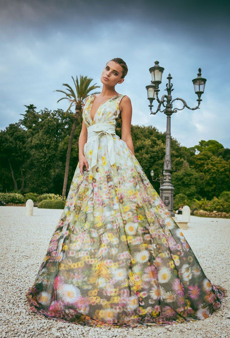 Amazing Alessandro Angelozzi Couture 2015 Collection Floral Wedding DressesWedding