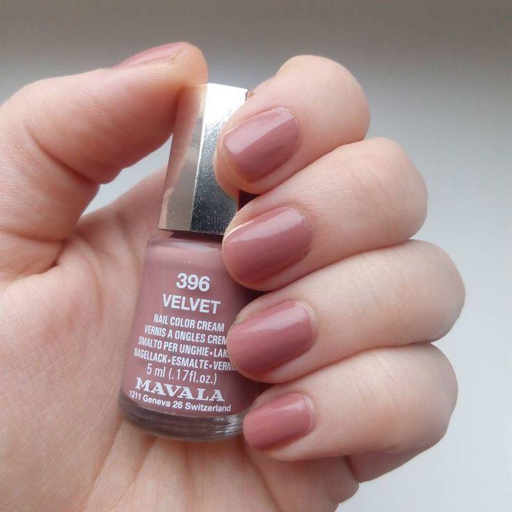 Velvet Nail Polish: Mavala Nail Polish, Nails, Nail