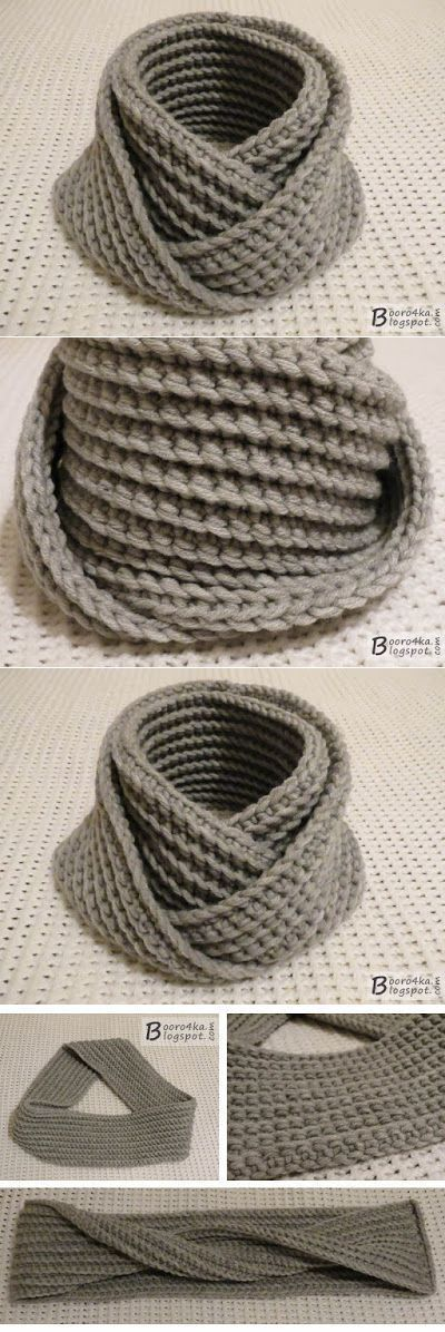 gancho de la bufanda-LIC inusual y sencilla durante 2,5 horas
