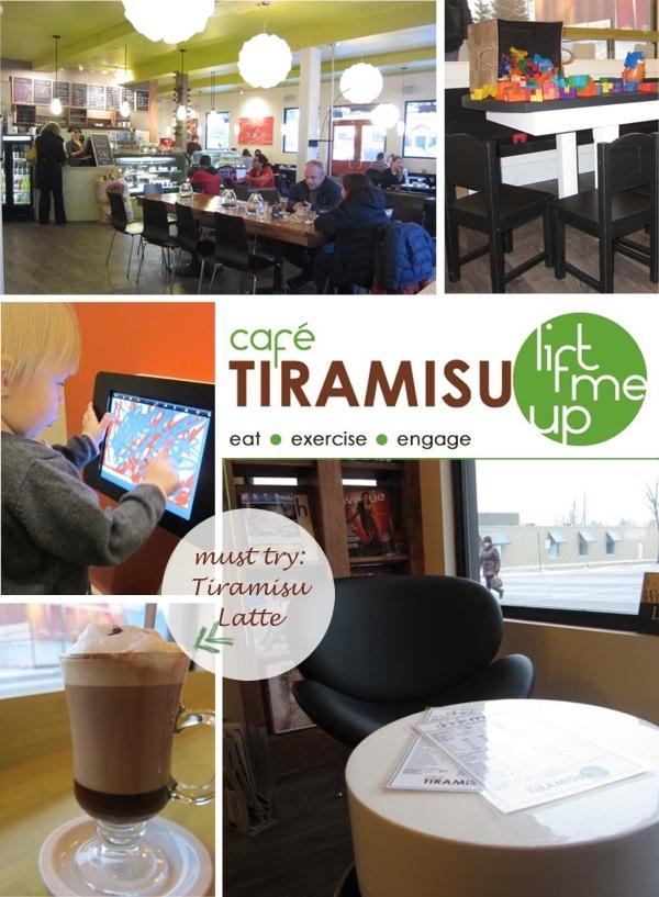 Family Friendly Cafe - Café Tiramisu on 124 st and 108 ave