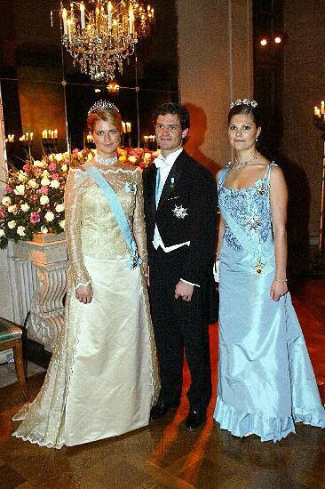 Sweden's Royal siblings:  Victoria, Carl Mark, and Madeleine