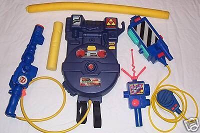 The Real Ghostbusters Proton Pack, Ghost Trap, and PKE Meter [1988 - 1989].