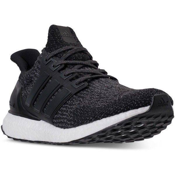 adidas Men\u0027s Ultra Boost Running Sneakers from Finish Line (\u20ac150) ? liked  on Polyvore featuring men\u0027s fashion, men\u0027s shoes, men\u0027s sneakers, mens shoes,  ...