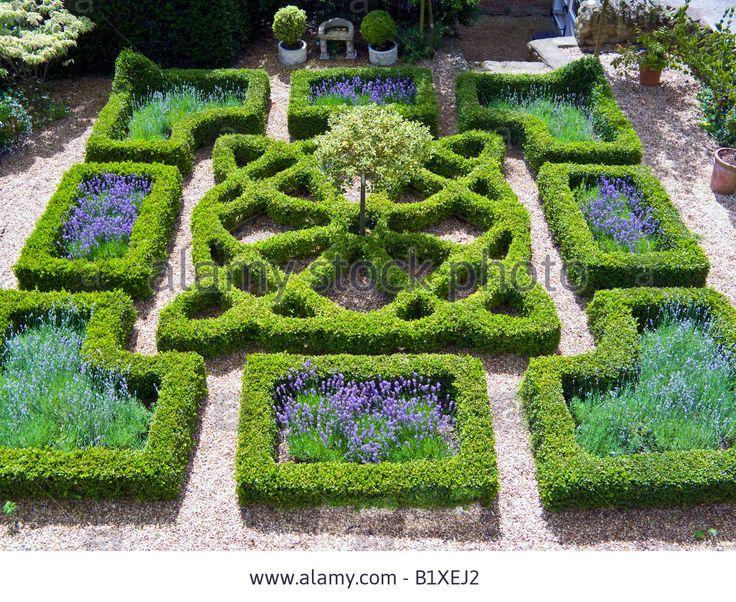 191 best knot gardens images on pinterest garden hedges for English knot garden designs