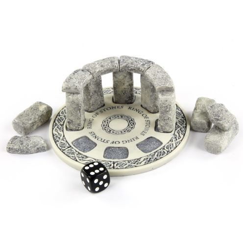 Ring of Stones is a fun and easy game, and looks great when not in use. The Stonehenge Ring of Stones Game is part of the English Heritage Stonehenge gift range. Buy online at English Heritage shop.