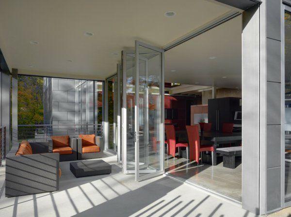 17 meilleures id es propos de portes accord on sur pinterest pliantes por - Porte vitree accordeon ...