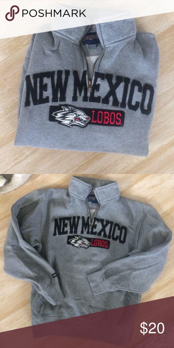 Ne Mexico Lobos Sweatshirt New Mexico Lobos sweatshirt. Size S. Great condition. Jansport Sweaters