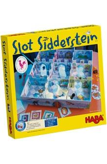 Slot Sidderstein - Familiespel Haba, kei leuk, kinderen winnen dikwijls van volwassenen bij dit spel!
