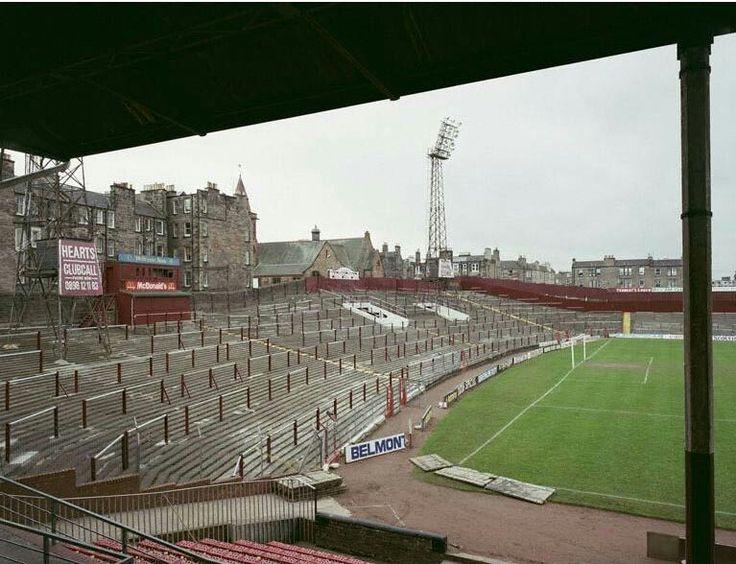 Tynecastle Stadium, Edinburgh. Home of Heart of Midlothian FC.