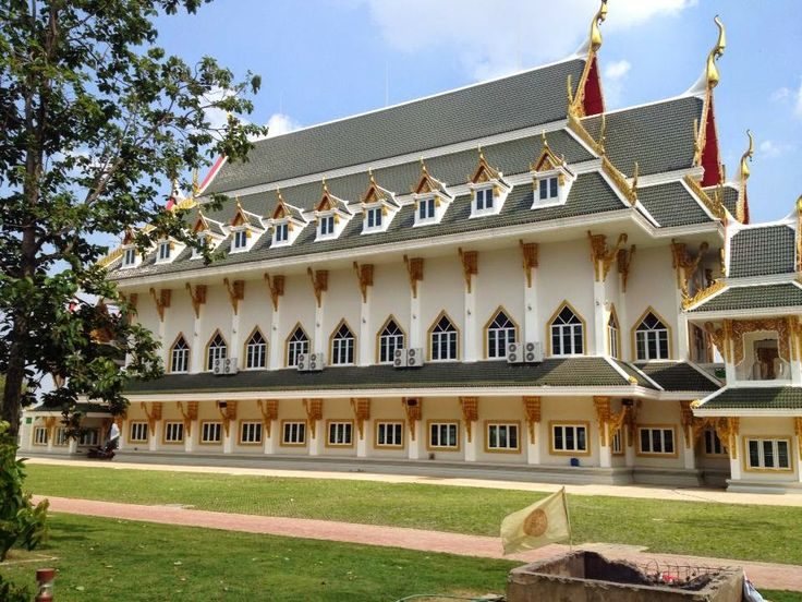 Thailand Wat Khun Inthapramun The old ancient of history temple