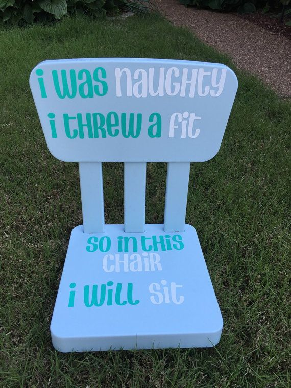 Time out Chairs for toddlers/kids by MMDesignsBoutique on Etsy