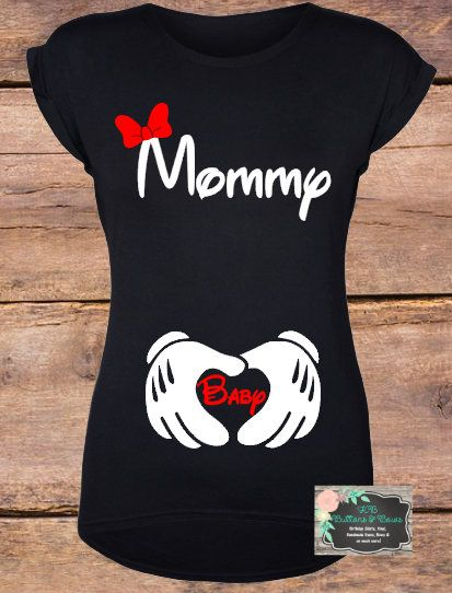 10a1c08b Minnie Mouse Pregnancy Announcement Shirt-Maternity Shirt-Cute Mom Shirts-Baby  Shower Gift-Disney Shirt Collective #ad