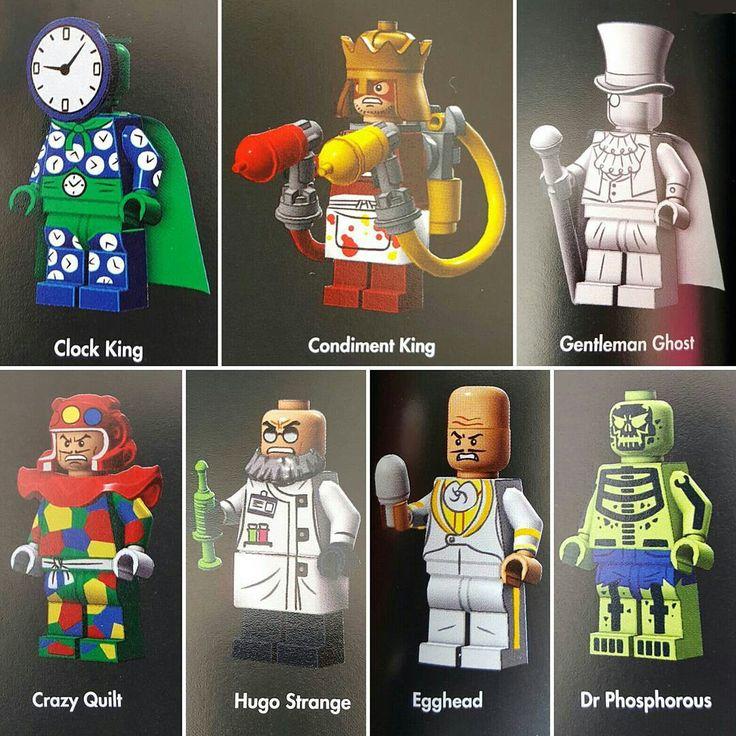 Clock King Condiment King Gentleman Ghost Crazy Quilt