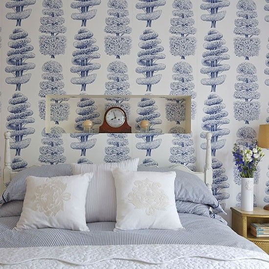 Bedroom Wallpaper Ideas Creative Bedroom Blue Wall Designs Dallas Cowboys Bedroom Paint Ideas Bedroom Interior Design Ideas India: 17 Best Ideas About Blue And White Wallpaper On Pinterest