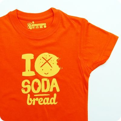 i love soda bread kids t-shirt