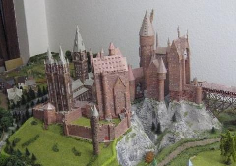 Wizard S Medieval Castle Paper Model In 1 160 Scale By