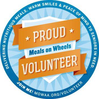 Meals On Wheels Graphics | Proud Meals On Wheels Volunteer