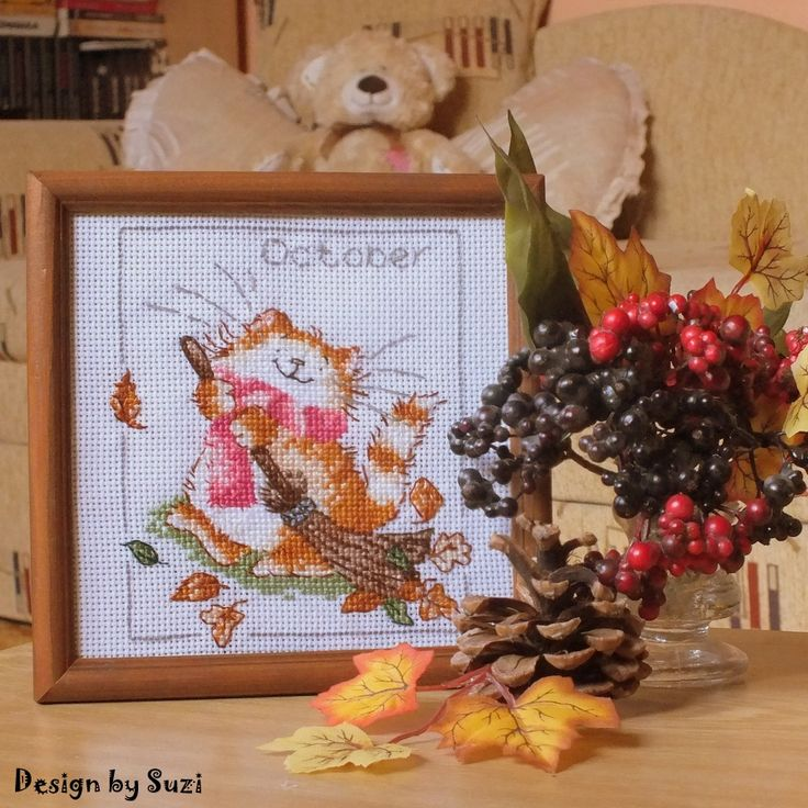 Margaret Sherry: Calendar Cats (October)