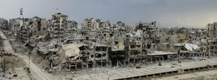 """Homs in May: """"People are telling me that Homs looks like Berlin in 1945."""""""