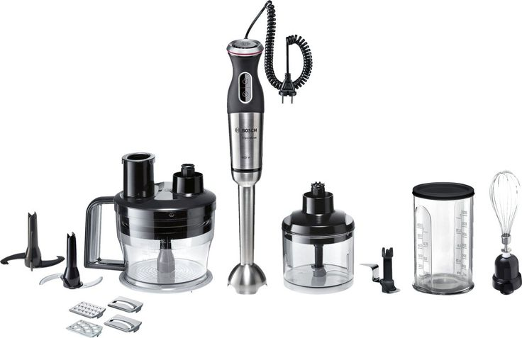 Amazon.de: Bosch MSM88190 Stabmixer-Set MaxoMixx, schwarz / edelstahl gebürstet