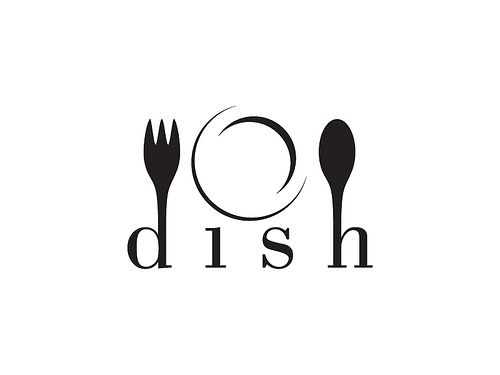 Dish Catering logo | Created logo that will eventually be im… | Flickr