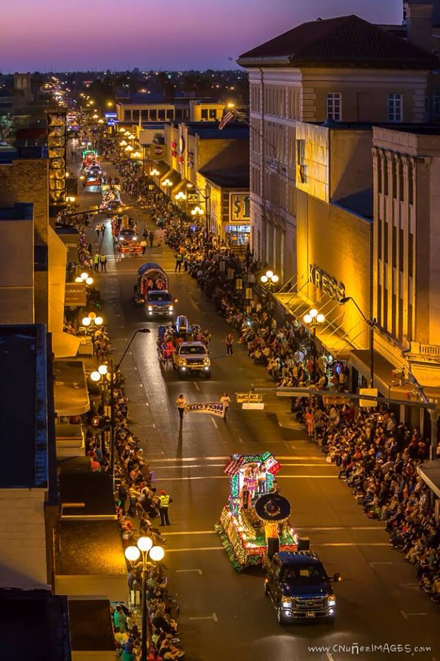 Charro Day's night Parade 2014 - Brownsville , Texas