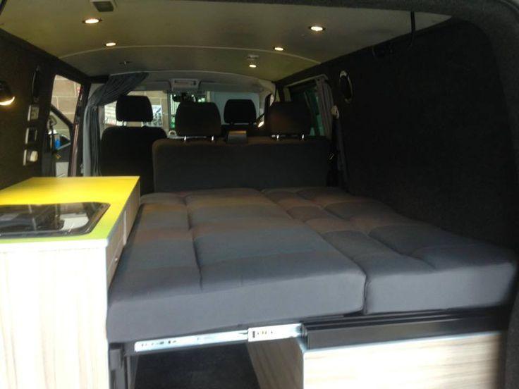 Kev & Hev's VW T6 Kombi Camper Conversion – SJ Campers