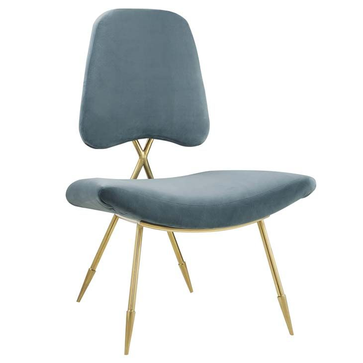 Modway Furniture - Ponder Upholstered Velvet Lounge Chair