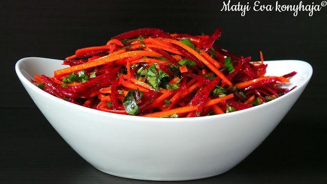 Matyi Eva: Biborsalata, avagy nyers repa es cekla salata.