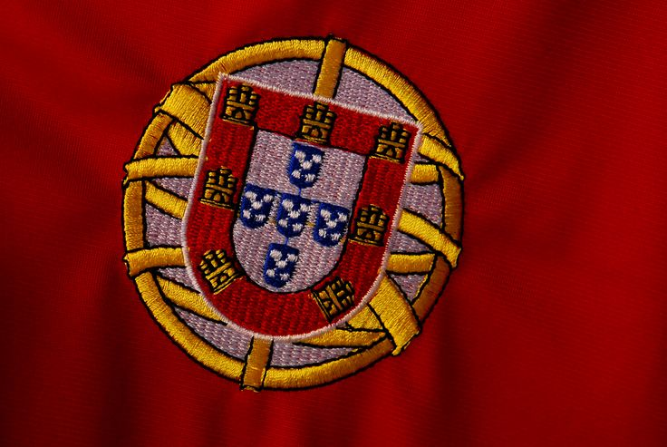 Coat of Arms of Portugal. In the town of Cascais
