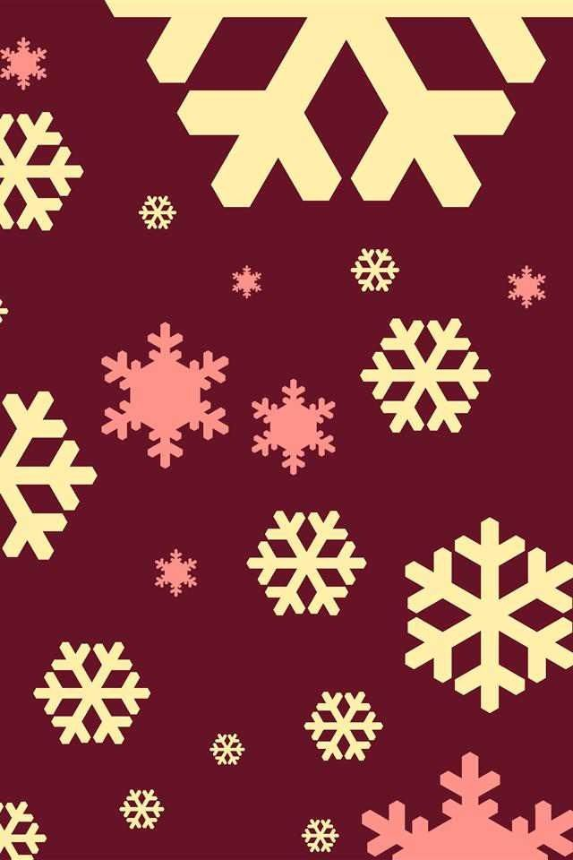 Christmas Wallpaper Patterns Pinterest Snowflakes